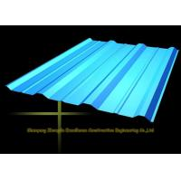 Buy cheap Long Span Color Coated Metal Corrugated Roofing Sheets / PPGI Roof Steel Panels from wholesalers