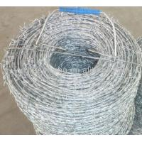 Buy cheap Galvanized Barbed Wire Factory from wholesalers