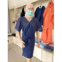 Buy cheap Ly Disposable Sauna Clothes, Bath Gown, Bathrobe from wholesalers