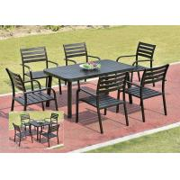 Buy cheap Garden Metal Dining Set / Cast Aluminum Outdoor Furniture Table And Chair from wholesalers