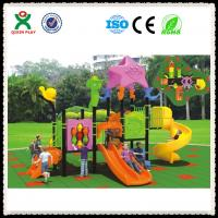 Buy cheap Outdoor playground safety surfacing rubber playground surface QX-050A from wholesalers