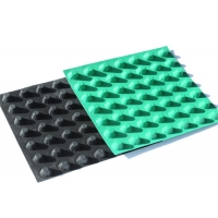 Buy cheap 30mm High Construction Engineering Use Hdpe Dimpled Drainage Sheet from wholesalers