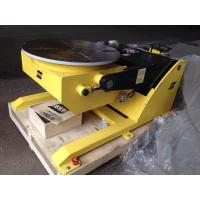 Buy cheap Small Hydraulic Rotary Welding Positioners / Welding Positioning Equipment 380V 50HZ from wholesalers