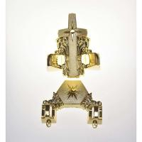 Wholesale Star Design Coffin Ornaments Fitting 12# In Gold Finishing Casket Corner from china suppliers