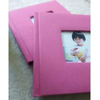 Buy cheap 8x12 Lovely Children Fabric Covered Photo Album With Matt Lamination Paper from wholesalers