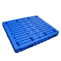 Buy cheap Double Faced  Blow Plastic Tray  Closed Deck Type Reusable Eco Friendly from wholesalers
