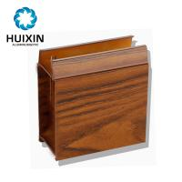 Wholesale Aluminium profile extrusion profile for sliding door with electrophoresis wood grain from china suppliers