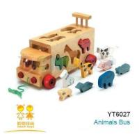 Buy cheap Wooden Toys-Animals Bus from wholesalers