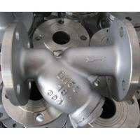 Buy cheap stainless steel CF8 Y type strainer flange end class150 API standard from wholesalers
