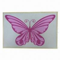 Wholesale Wooden frame cork board with color printing from china suppliers