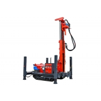 Buy cheap Dth 200m Hydraulic Track Mounted Drill Rig With Mud Pump from wholesalers