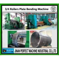 Wholesale Three Rollers Plate Bending Machine from china suppliers