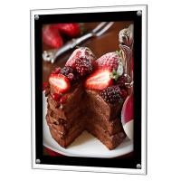 Buy cheap Giant White LED Light Box Display Stand Snap Frame For Hotels / Shopping Mall from wholesalers