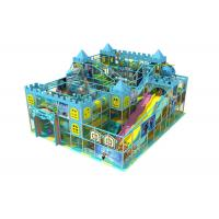 Buy cheap Frozen Theme Blue Kids Indoor Playground Equipment With Wave Slide KP150520 from wholesalers