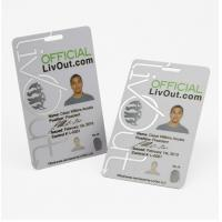 Buy cheap Customized Printing Photo ID Card Rfid Standard Loyalty Card from wholesalers