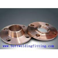 China 150# ANSI B16.5 Monel400 Inconel600 WN DN10 PN16 Weld Neck Flange 12 Inch For Shipbuilding on sale