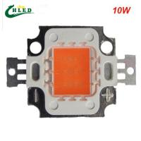 Buy cheap 10w led grow light chip cob full spectrum 380-840nm DIY led grow light chip for product