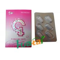 Buy cheap Natural Herbal Sex G Female Oral Tablets For Women Enhancement Sexual Proformance from wholesalers
