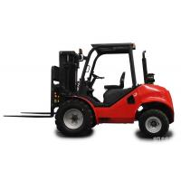 China Rough terrain forklift truck with Imported Japanese diesel engine on sale