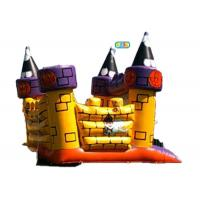 Buy cheap Halloween Inflatable Jumping Castle Waterproof Lead Free High Performance from wholesalers