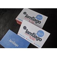 Wholesale private design paper name card with glossy finished from china suppliers