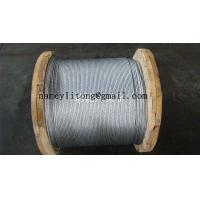 "Buy cheap 3/8""Zinc-coated Steel Wire Strand product"
