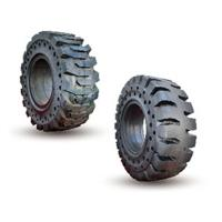 China High Efficiency Solid Pneumatic Forklift Tires / Solid Rubber Forklift Tires on sale