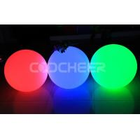 Buy cheap Water Proof Glowing Led Balls Outdoor Christmas Lighted Balls Sphere from wholesalers