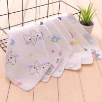 Buy cheap Printed Newborn Baby Napkins 100 Cotton Easy Wash Customized Carton Size from wholesalers