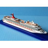 Buy cheap Carnival Cruise Liberty Handcrafted Model Ships For Souvenir Promotional Gift from wholesalers