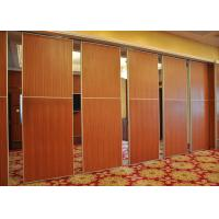 Buy cheap Red Fireproof Partition Wall Hanging Sliding Door For Exhibition Halls from wholesalers
