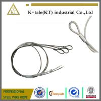 Buy cheap 7X19 Single Leg 1/4 Steel Wire Rope Sling from wholesalers
