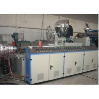 Buy cheap High Capacity Double Screw Extruder 55mm / 110mm With Electric Control System from wholesalers