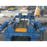 Adjustable Welding Turning Rolls With Moving Wheels 40 Ton Load Capacity Manufactures