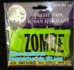 Buy cheap Halloween Caution Tape , Custom Printing Caution Tape Halloween Banner,Halloween Caution Tape zebra tape bagease pack from wholesalers