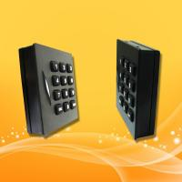 Buy cheap Keypad RFID Card Reader , 13.56MHz Mifare Card Access Control Rfid Reader from wholesalers