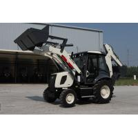 Buy cheap Low price hydraulic 1m3 bucket backhoe loader AC and Joystick WZ30-25 from wholesalers