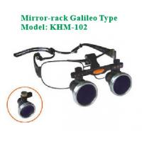 Wholesale Veterinary LED headlamp Mirror-rack +Galileo magnifier model KHM-102A (3.0 magnifier) with magnifier, magnifier headlamp from china suppliers
