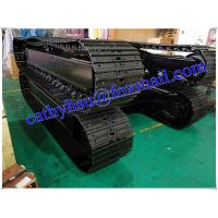 Buy cheap custom built 8-10 ton steel track undercarriage crawler undercarriage assembly from wholesalers