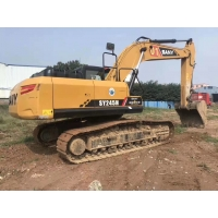 Buy cheap Low Fuel Consumption SY245H 24T Used Sany Excavator from wholesalers