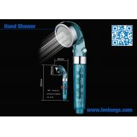 Transparent Moisturizing Filter Shower Head Magnet Therapy For Hotel Manufactures
