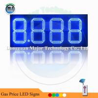 China 8.889 High Brightness Blue Gas Station LED Gas Price Number Sign on sale