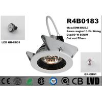 IP40 Round LED Spot Downlights GU5.3 Aluminum Housing Dimmable LED Downlights