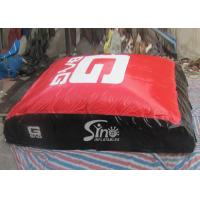 Buy cheap 8x8m indoor kids N adults inflatable jump air bag for adventure stunt or energy exercise from wholesalers