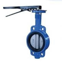 Metal Seated Cast Iron Butterfly Valves With Pneumatic Actuator D373H-10K Manufactures