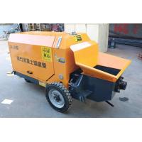 Buy cheap Remote Operation Ready Mix Concrete Pump , Stepless Hydraulic Concrete Pump from wholesalers