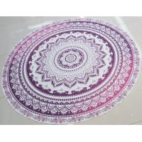 Buy cheap Lightest Round Mandala Beach throw Cotton roundies 150CM Polyester round beach sarong from wholesalers