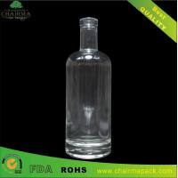 Buy cheap 750ml High-White Glass Bottle for Rum from wholesalers