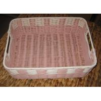 Buy cheap China Made High Quality Square Plastic Rattan Storage Basket/fruit basket/ sundry use basket from wholesalers