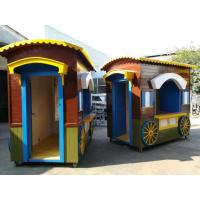 Buy cheap Beautiful Preserving Timber Mobile Vending Kiosk With Four Wheels from wholesalers